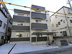 兵庫県西宮市花園町の賃貸アパートの外観