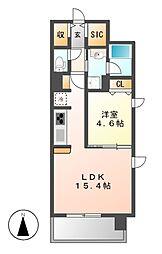 仮)泉三丁目マンション[7階]の間取り
