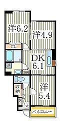 フォルテシモ[1階]の間取り