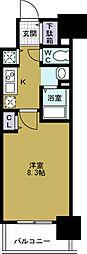 ララプレイスOSAKA WEST PRIME[11階]の間取り
