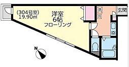 プラージュ鎌倉[3階]の間取り