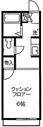 コモハウス2[102号室]の間取り