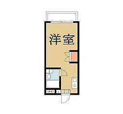 メゾン朋泉II[209号室]の間取り