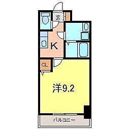 双樹マンション[503号室]の間取り