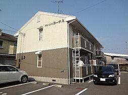 愛媛県松山市東石井7丁目の賃貸アパートの外観