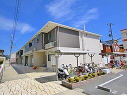 奈良県桜井市大字東新堂の賃貸アパートの外観