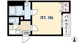 瓢箪山駅 4.2万円
