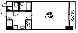 ロータリマンション長田東 長田東1 長田駅6分[7階]の間取り