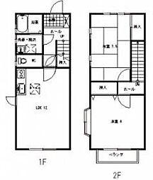 [タウンハウス] 静岡県浜松市西区入野町 の賃貸【/】の間取り