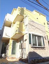 東京都豊島区南池袋1丁目の賃貸アパートの外観