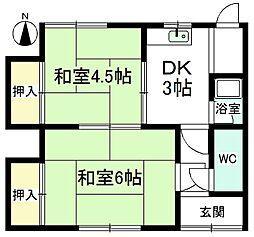 [一戸建] 愛知県小牧市村中字洞木 の賃貸【愛知県 / 小牧市】の間取り