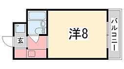 セントポーリア[105号室]の間取り