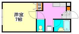 ルミエール大久保[2階]の間取り