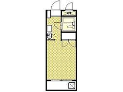 グリーンハイムフミ[2階]の間取り