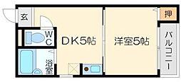 KSハイムI[1階]の間取り