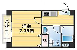 ETC緑橋[1階]の間取り
