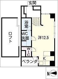 GKレジデンス[8階]の間取り