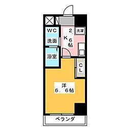 T's Dream 小牧[5階]の間取り