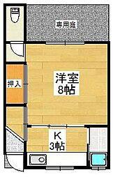 [テラスハウス] 京都府京都市中京区壬生馬場町 の賃貸【/】の間取り