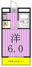 ランドフォレスト松戸[102号室]の間取り