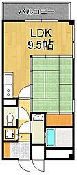 福寿荘参番館[1階]の間取り