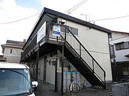 宮崎県宮崎市恒久3丁目の賃貸アパートの外観