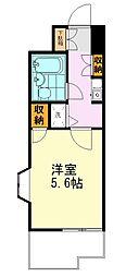ライオンズマンション東墨田[601号室]の間取り