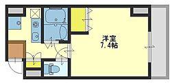 サンピリア小阪[302号室]の間取り