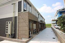 福岡県遠賀郡水巻町猪熊6丁目の賃貸アパートの外観