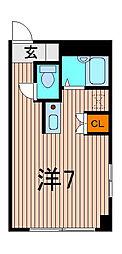 デンステージ[4階]の間取り
