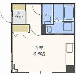 Aisu bldg[4階]の間取り