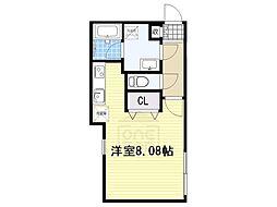 Branche覚王山[3階]の間取り