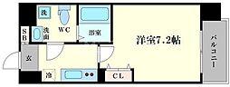 アドバンス大阪ルーチェ[8階]の間取り