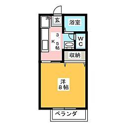 サテライトシティ水戸II[1階]の間取り