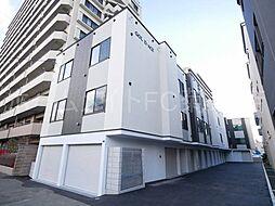 北海道札幌市白石区東札幌一条5の賃貸アパートの外観