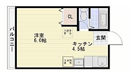 山栄ビル[2階]の間取り