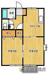 コーネリア神埼A棟[1階]の間取り