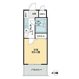 ライオンズプラザ平塚第2[7階]の間取り