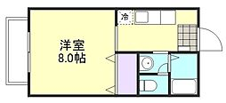 ラクシュリーマンションE棟[2階]の間取り