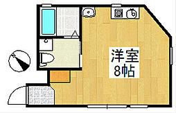 青木ビル[5階]の間取り