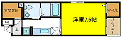 エクロール[3階]の間取り