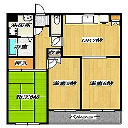 Fifth Arai Place[1階]の間取り