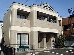 岐阜県岐阜市六条片田2丁目の賃貸アパートの外観