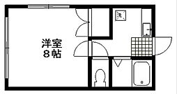 モンクール[1階]の間取り