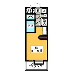 桜山アネックス[3階]の間取り