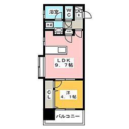アクタス博多ステーションタワー[8階]の間取り