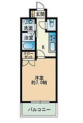 大三祇園ビル[3階]の間取り