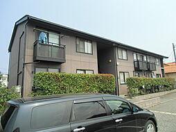 新潟県新潟市東区船江町1丁目の賃貸アパートの外観