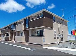 福岡県遠賀郡岡垣町中央台6丁目の賃貸アパートの外観