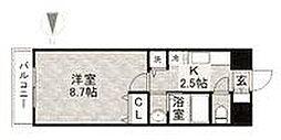 エルグランド藤崎[6階]の間取り